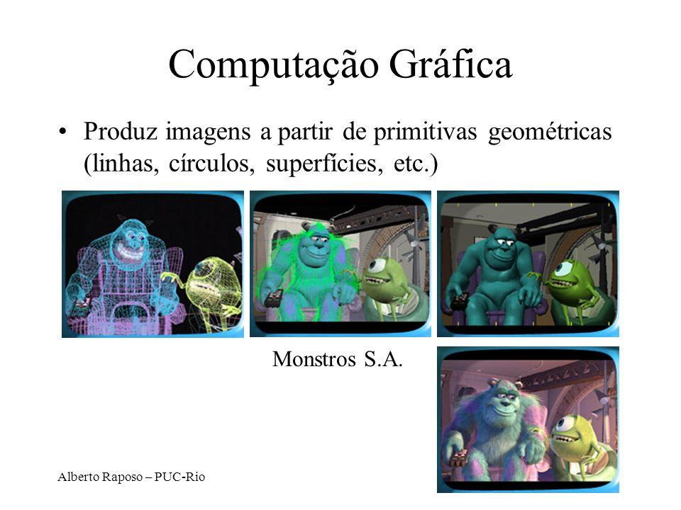 Alberto Raposo – PUC-Rio Áreas Correlatas Visualização: ampliação da capacidade de com- preensão do usuário