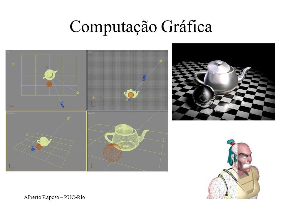 Alberto Raposo – PUC-Rio Processamento de Imagens Engloba operações realizadas sobre uma imagem para análise, compressão, detecção de padrões não perceptíveis ao olho humano...