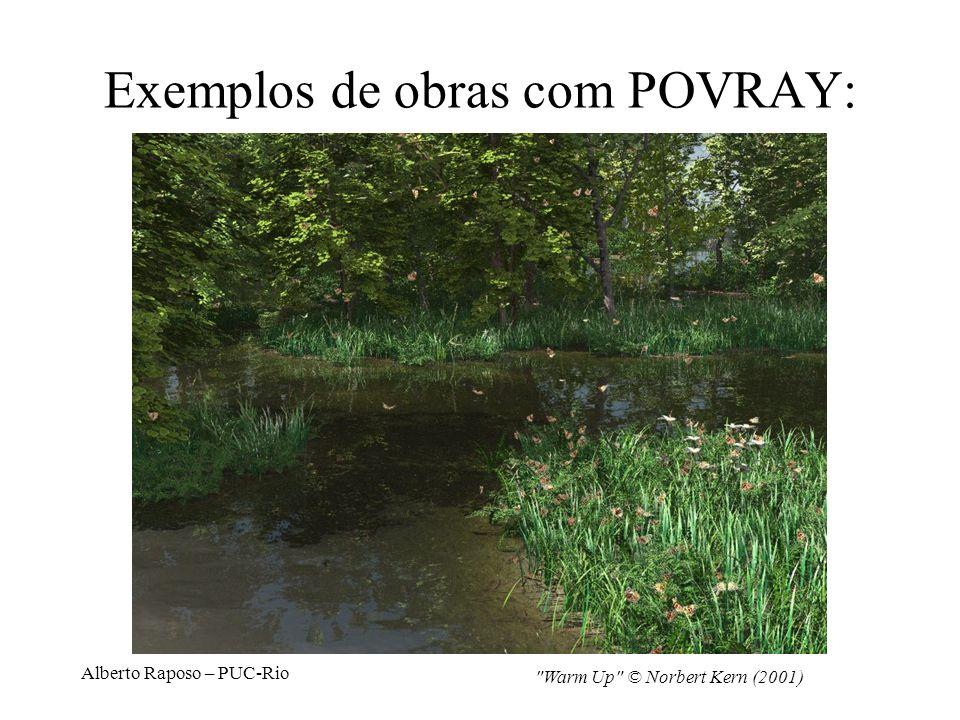 Alberto Raposo – PUC-Rio Exemplos de obras com POVRAY: Office © Jaime Vives Piqueres (2004)