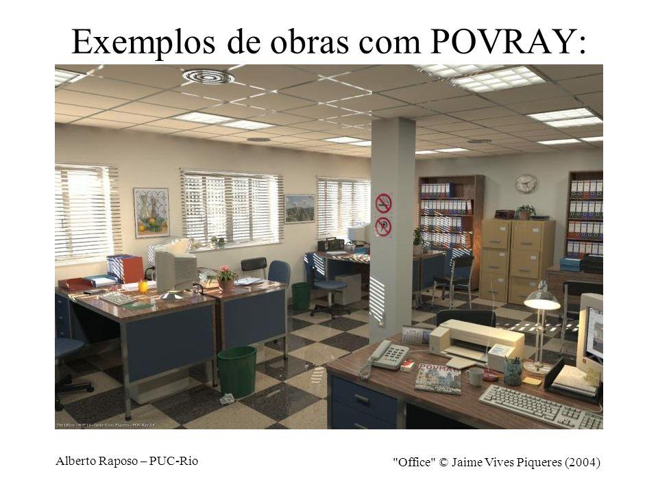 Alberto Raposo – PUC-Rio Exemplos de obras com POVRAY: The Prisoners © Gilles Tran (2000)
