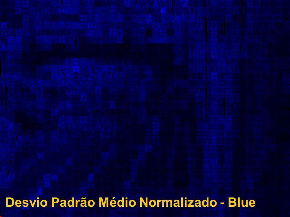 Desvio Padrão Médio Normalizado - Blue