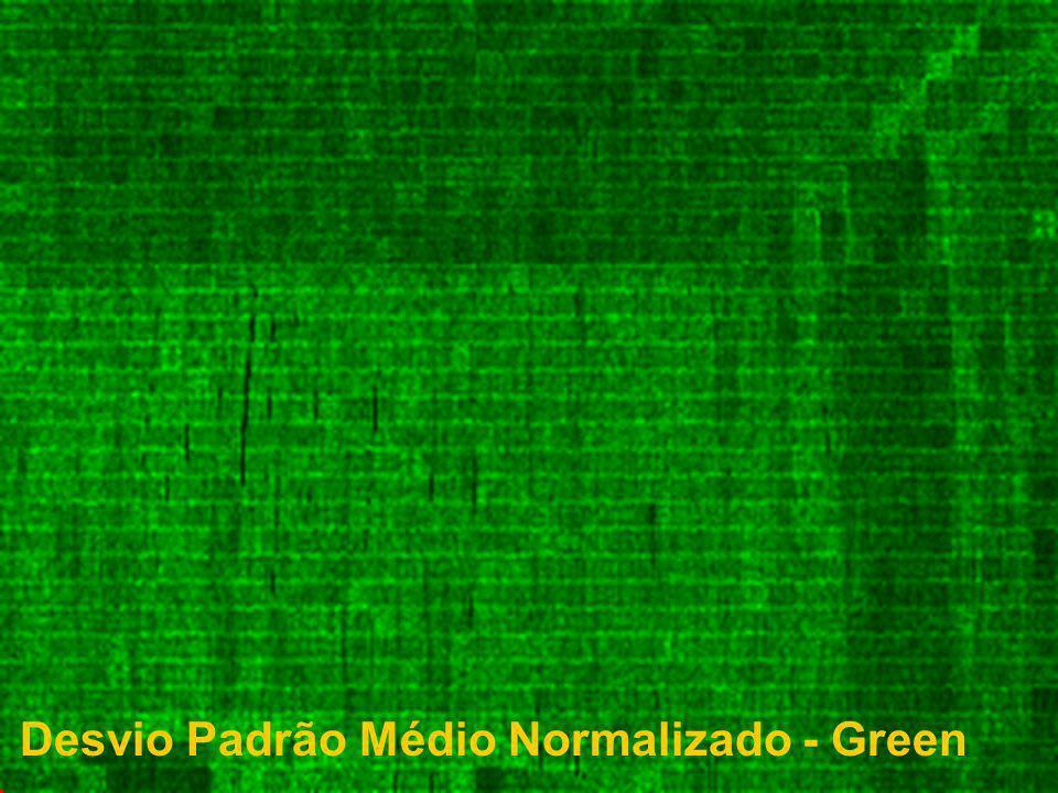 Desvio Padrão Médio Normalizado - Green