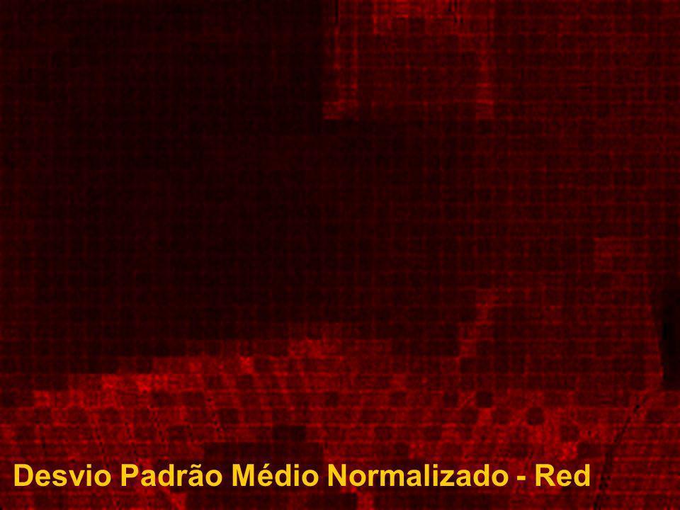 Desvio Padrão Médio Normalizado - Red