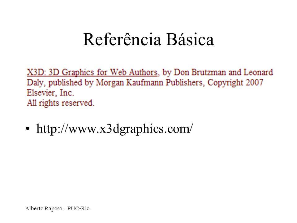 Alberto Raposo – PUC-Rio Referência Básica http://www.x3dgraphics.com/