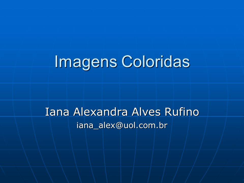 Imagens Coloridas Imagens Coloridas As imagens obtidas por sensores eletrônicos, em diferentes canais, são individualmente produzidas em preto e branco;As imagens obtidas por sensores eletrônicos, em diferentes canais, são individualmente produzidas em preto e branco; Ao projetar e sobrepor essas imagens, através de filtros coloridos, azul, verde e vermelho (cores primárias) é possível gerar imagens coloridas;Ao projetar e sobrepor essas imagens, através de filtros coloridos, azul, verde e vermelho (cores primárias) é possível gerar imagens coloridas; A cor de um objeto vai depender da quantidade de energia por ele refletida, da mistura das cores e da associação das cores com as imagens (ex: vegetação pode ser apresentada na cor vermelha ou verde).A cor de um objeto vai depender da quantidade de energia por ele refletida, da mistura das cores e da associação das cores com as imagens (ex: vegetação pode ser apresentada na cor vermelha ou verde).