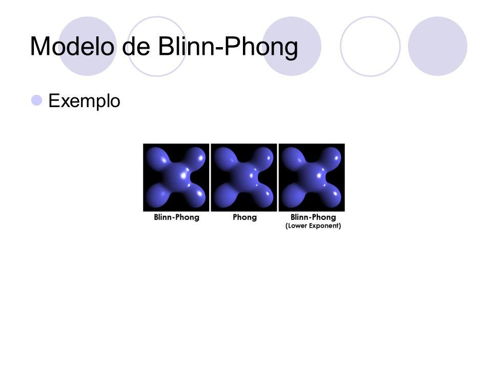 Modelo de Blinn-Phong Exemplo