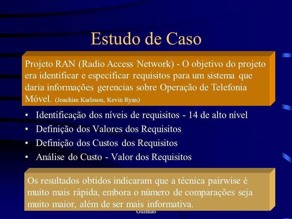 Ana Karina Barbosa / Cristine Gusmão 11 Analytic Hierarchy Process O AHP é baseado no domínio da hierarquização, onde o problema é decomposto em nívei
