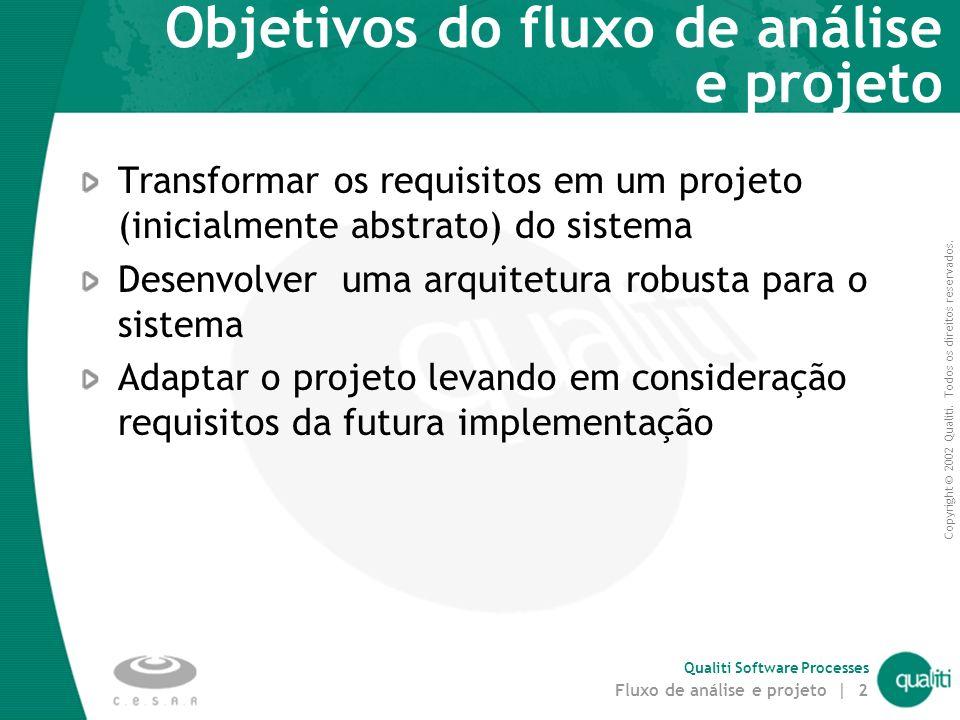 Fluxo de Análise e Projeto do RUP para Tempo Real Augusto Sampaio