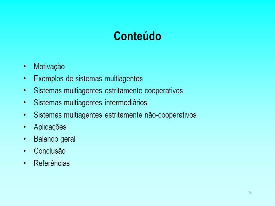 1 Programação Orientada a Agentes e Sistemas Multiagentes