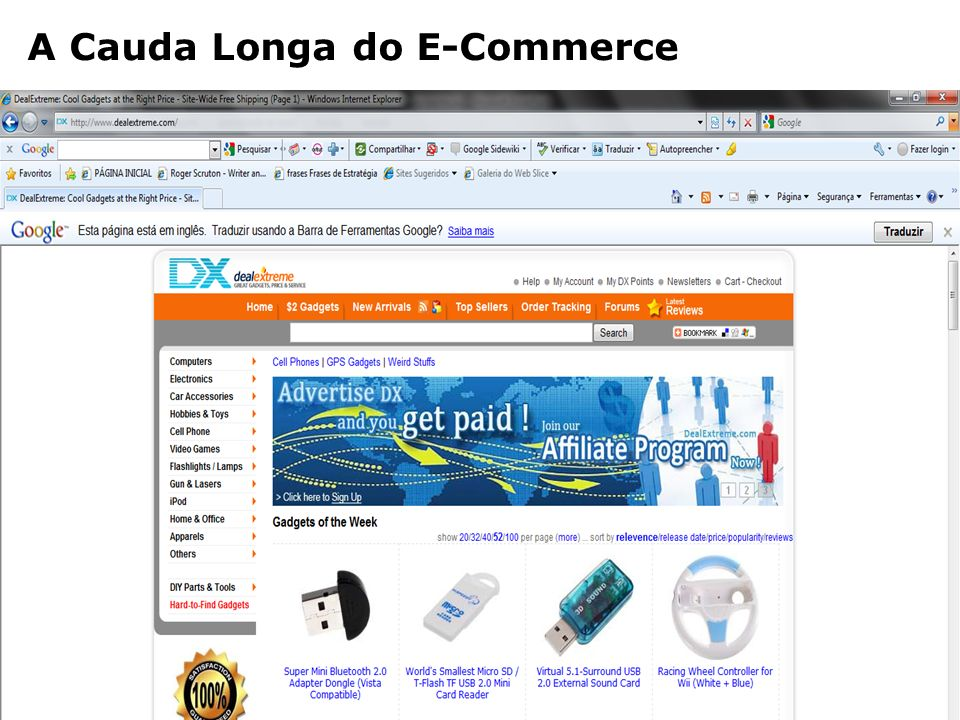 A Cauda Longa do E-Commerce