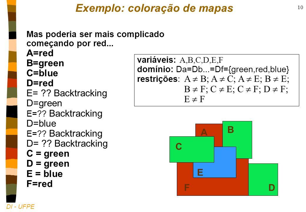 DI - UFPE 10 Mas poderia ser mais complicado começando por red...