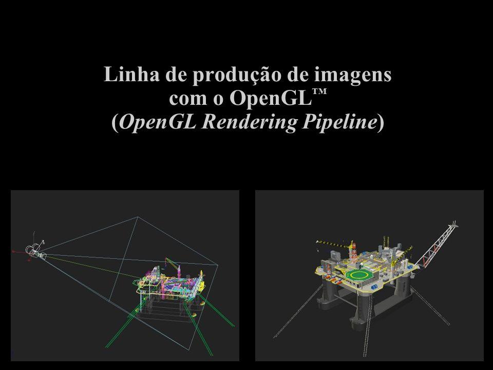 Linha de produção de imagens com o OpenGL (OpenGL Rendering Pipeline)