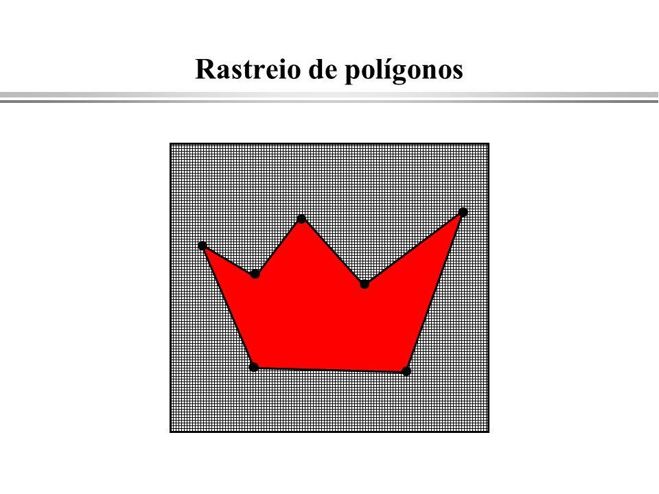 Rastreio de polígonos
