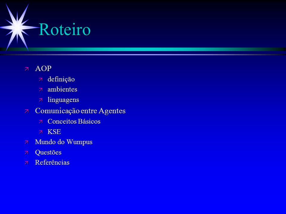 Programação Orientada a Agentes Franklin Souza Ramalho (fsr@di.ufpe.br)