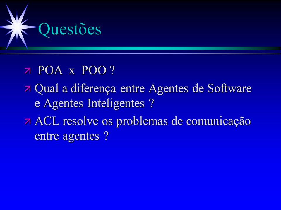 Considerações sobre o MWC ä ä Raciocínio do Caçador : ä ä Exemplo : ProcessaPercepcoes(msg.contents); motor.infere(x,y,briza,fedor);...
