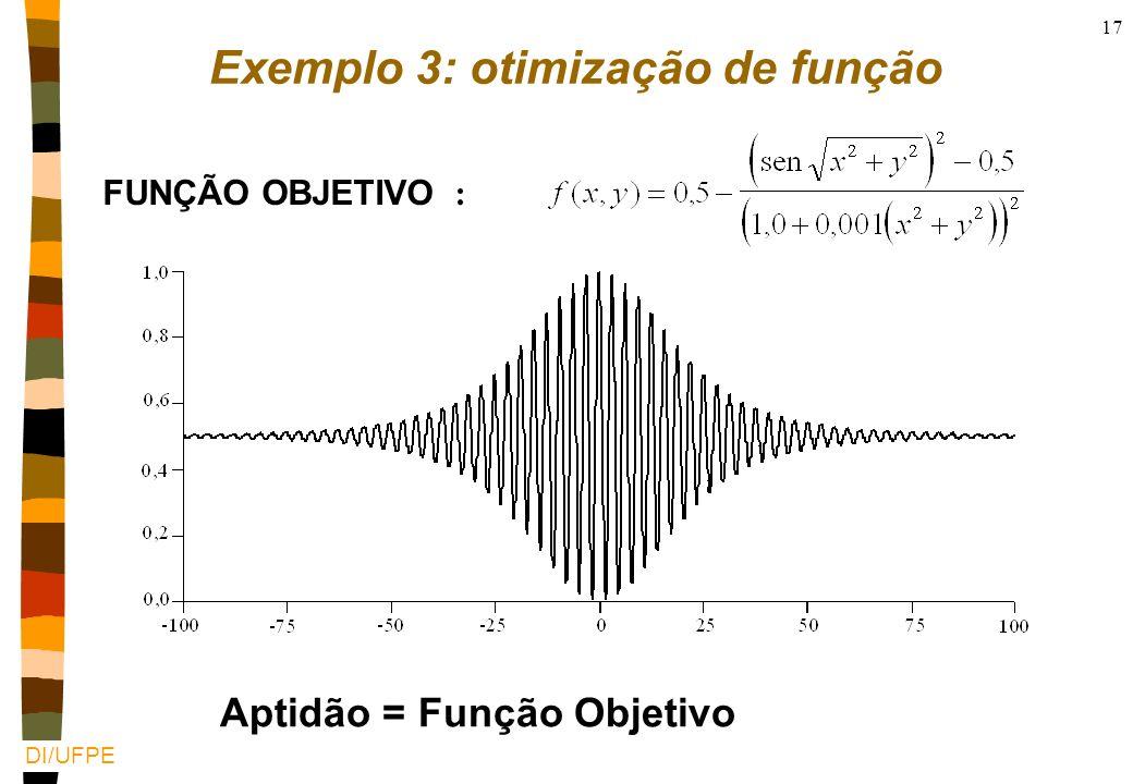 DI/UFPE 16 TSP: Implementação nCromossomo - Enumerado nObjetivo - minimizar o caminho total (tour) soma de cada elemento do vetor nExemplo animado www