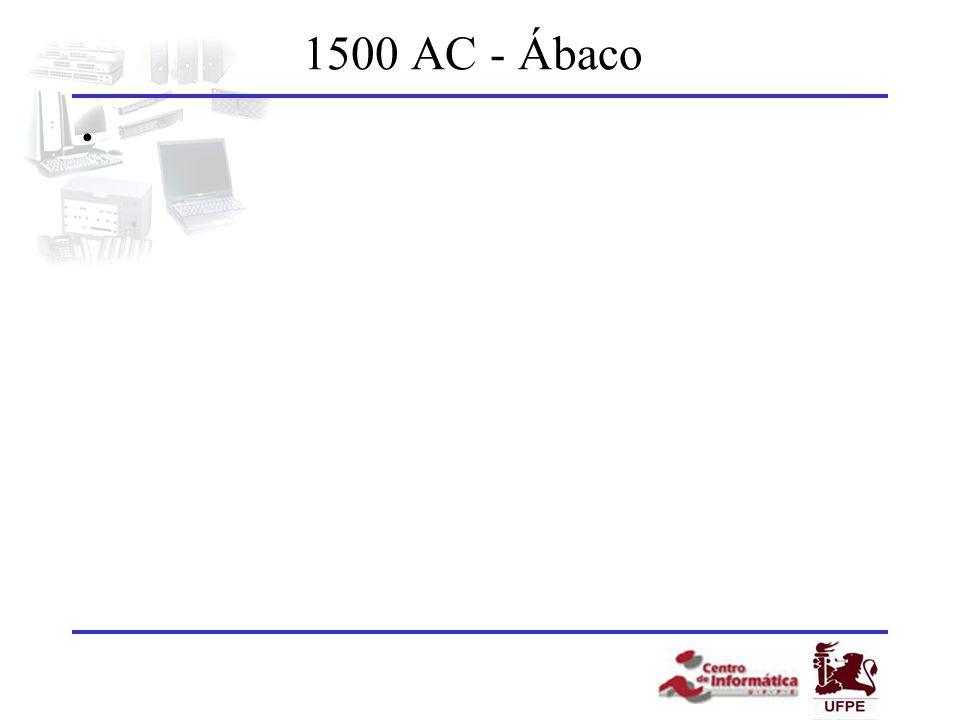 1500 AC - Ábaco