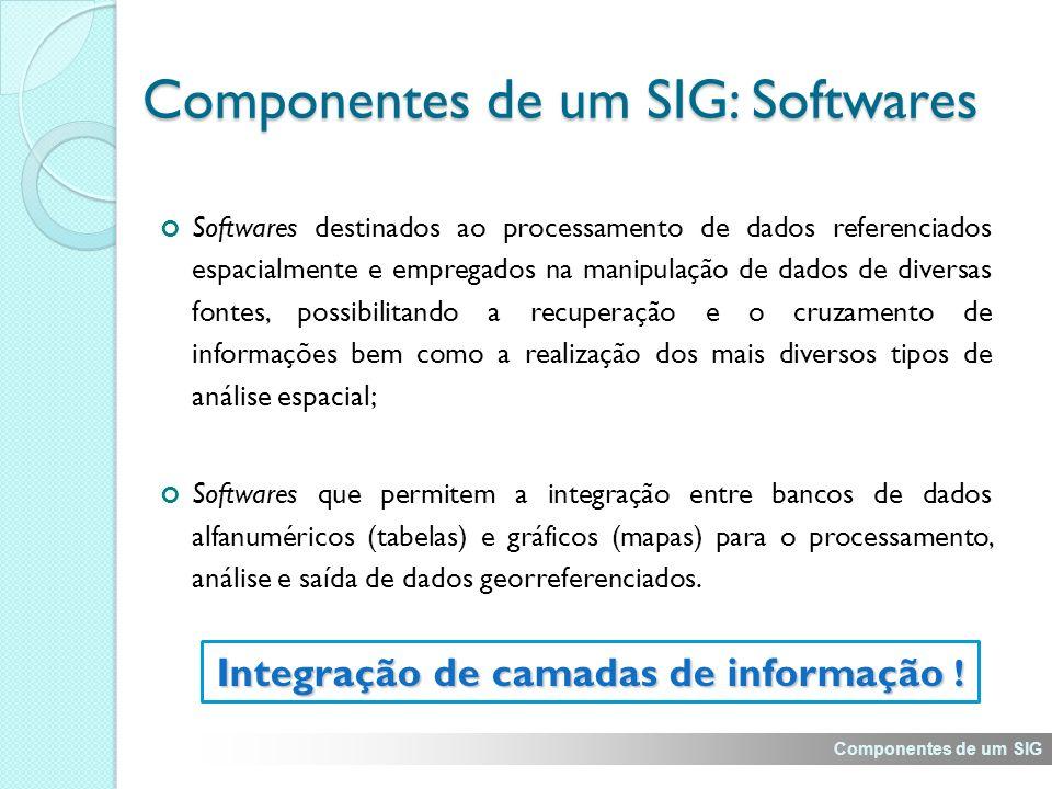 Integração de camadas de informação .