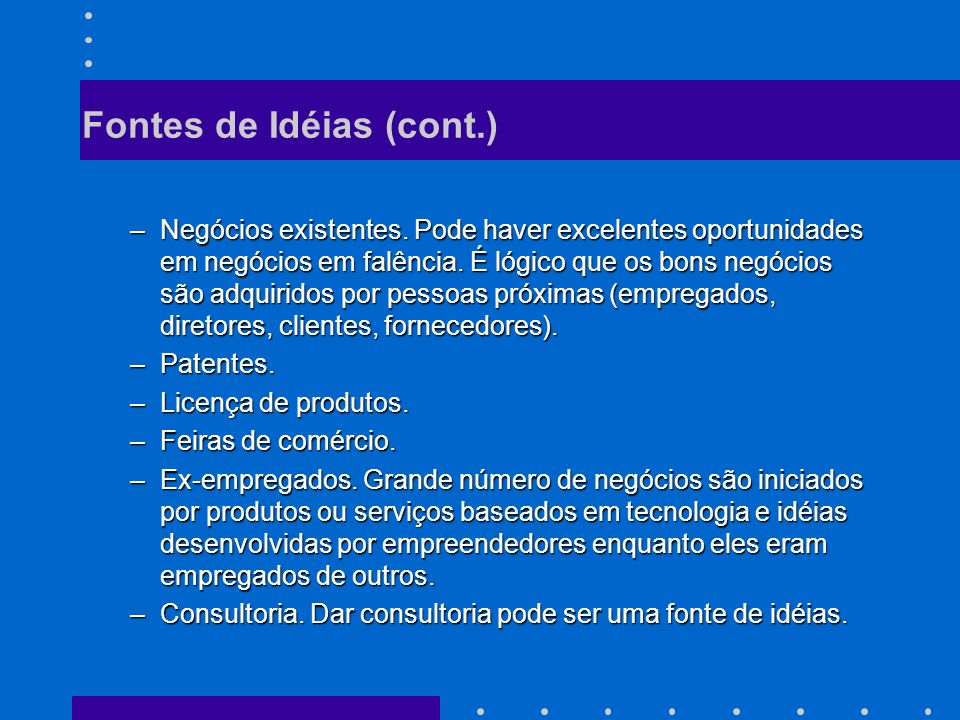 Plano de Negócios Ou de como iniciar a estruturação da sua empresa de informática