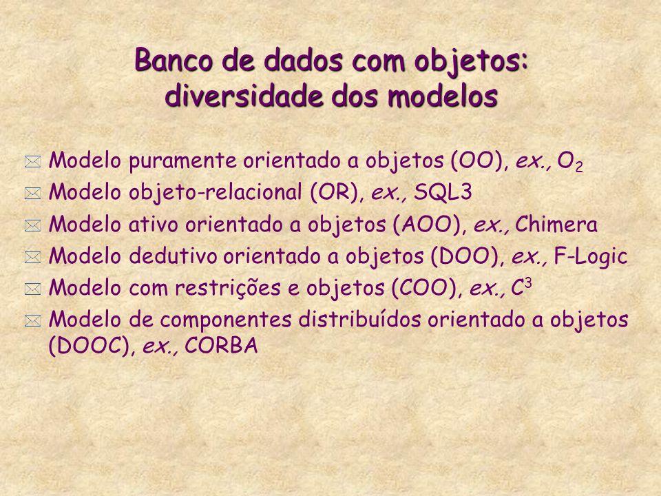 BD e componentes distribuídos orientado a objetos
