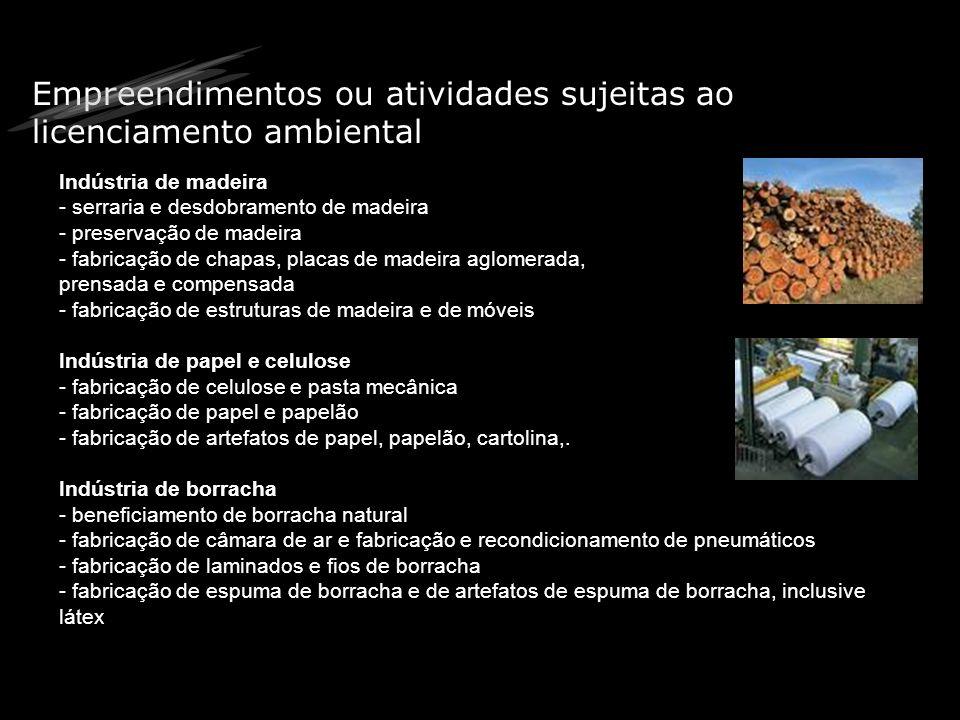 Tipos de licenças ambientais Licença Prévia (LP): primeira etapa do licenciamento funciona como um alicerce para a edificação de todo o empreendimento.