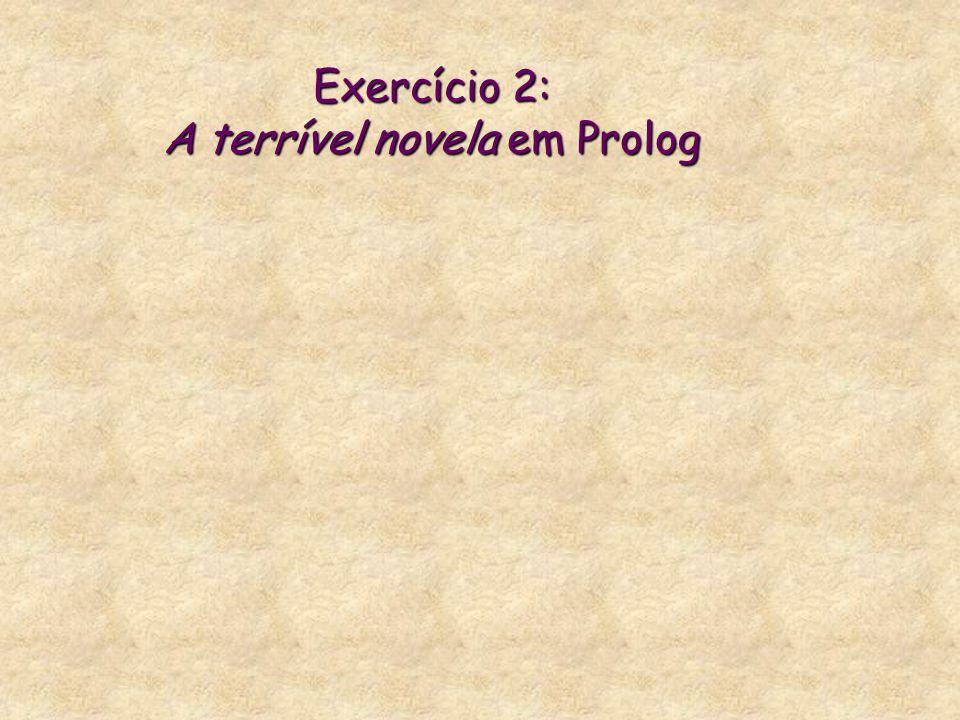 Exercício 2: A terrível novela em Prolog