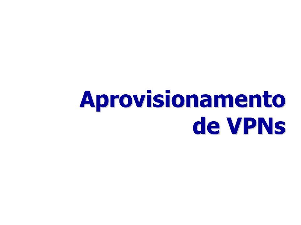 Aprovisionamento de VPNs