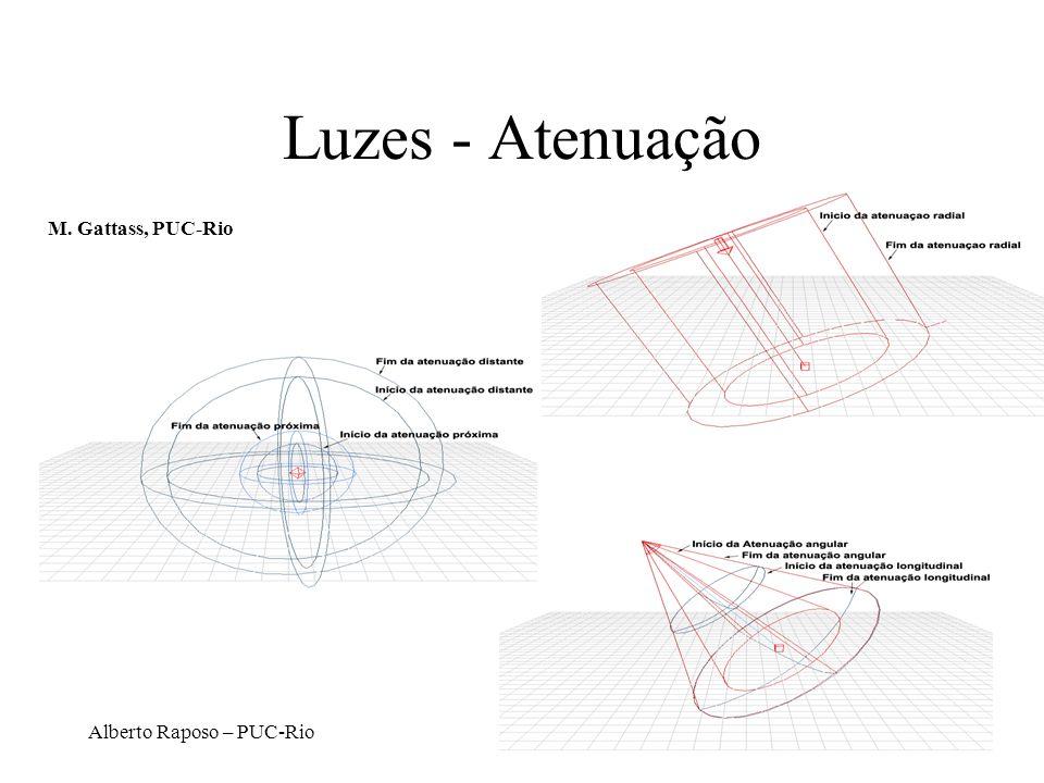 Alberto Raposo – PUC-Rio Luzes - Atenuação M. Gattass, PUC-Rio