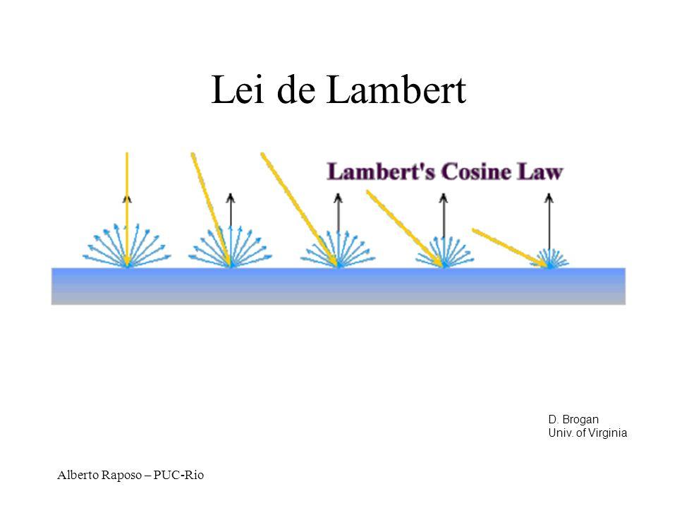 Alberto Raposo – PUC-Rio Lei de Lambert D. Brogan Univ. of Virginia