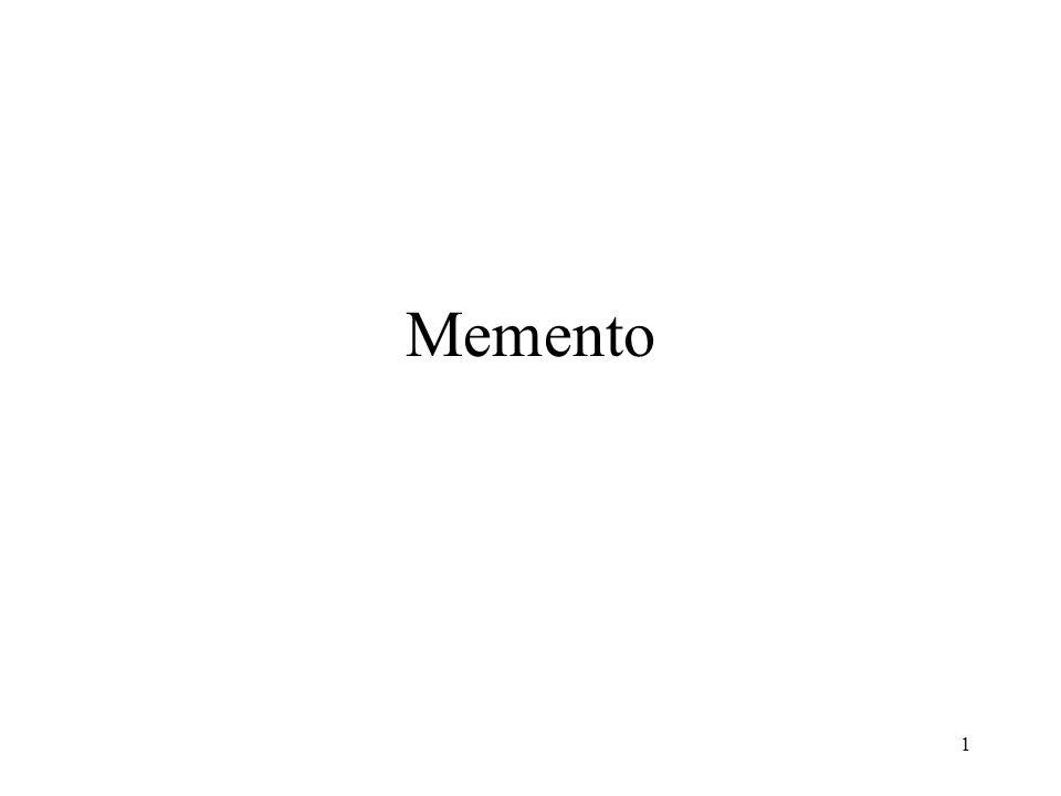1 Memento