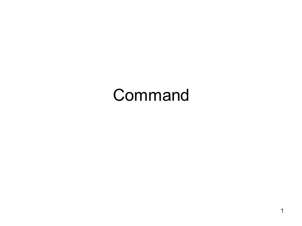 1 Command