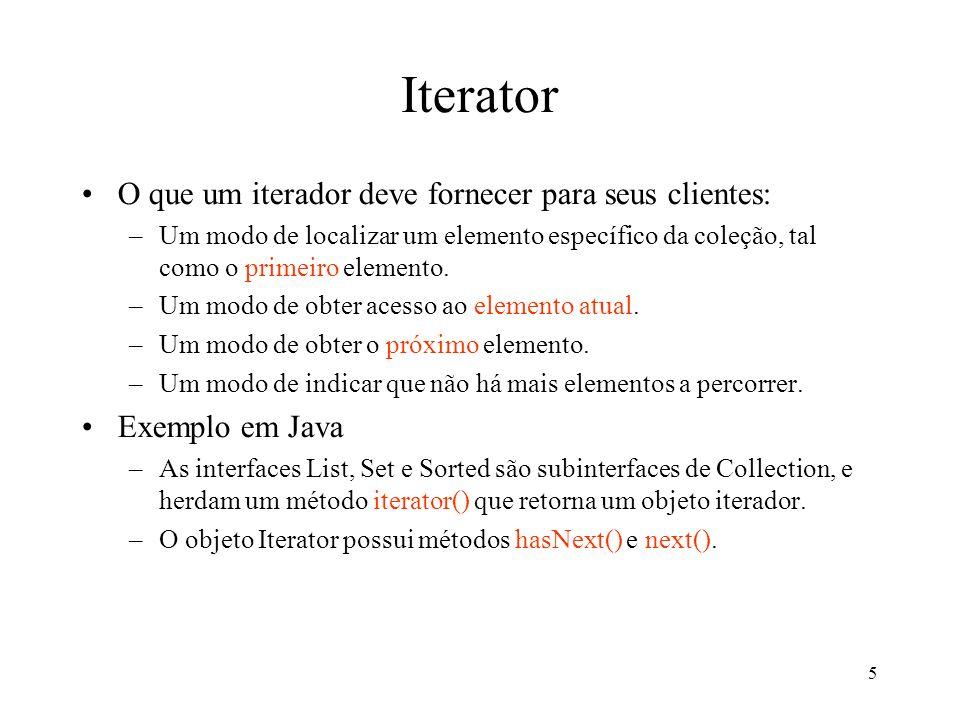6 Iterator (estrutura)