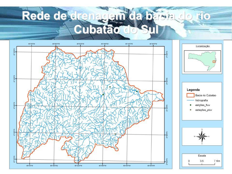 Page 23 Rede de drenagem da bacia do rio Cubatão do Sul