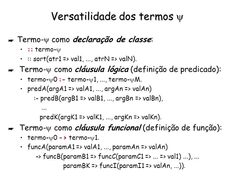 Notar a Assimetria de comportamento de := * t := {u;v;w}.