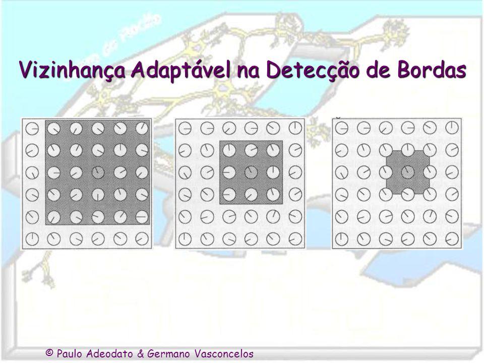 © Paulo Adeodato & Germano Vasconcelos Vizinhança Adaptável na Detecção de Bordas