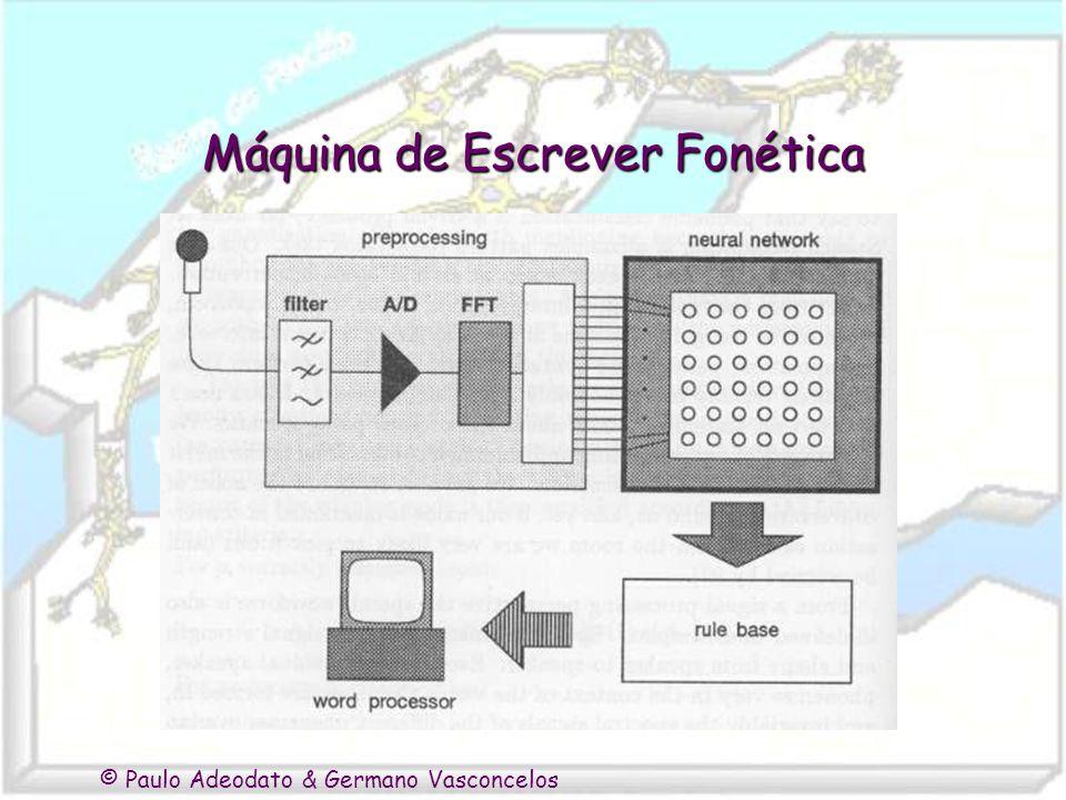 © Paulo Adeodato & Germano Vasconcelos Máquina de Escrever Fonética