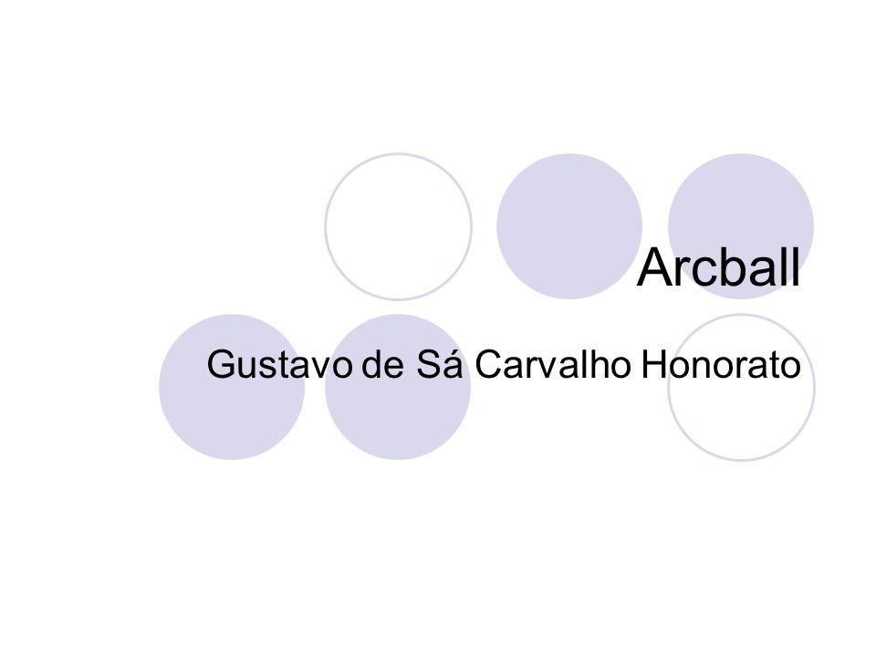 Arcball Gustavo de Sá Carvalho Honorato