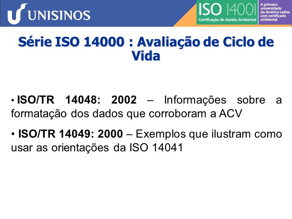 O Que é a ISO 14000 .
