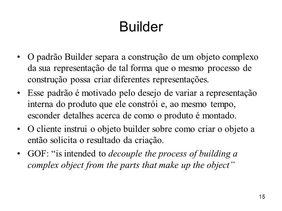 16 Builder - estrutura