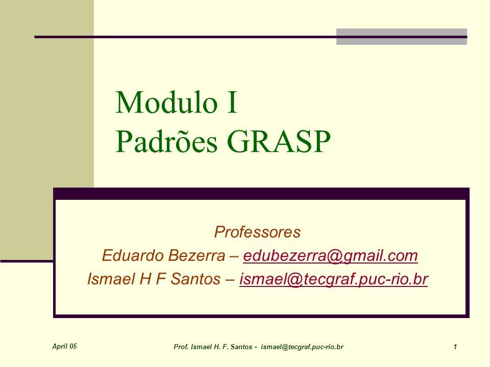 Julho 06 Prof(s). Eduardo Bezerra & Ismael H. F. Santos 12 Low Coupling (Acoplamento Fraco)