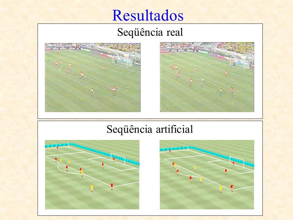 Seqüência artificial Resultados Seqüência real