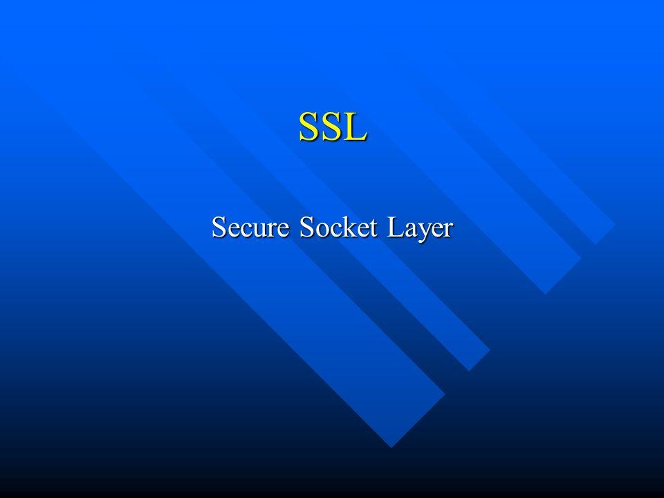 Introdução n Privacidade e Confiabilidade n Composto de 2 níveis: Protocolos de Aplicação...