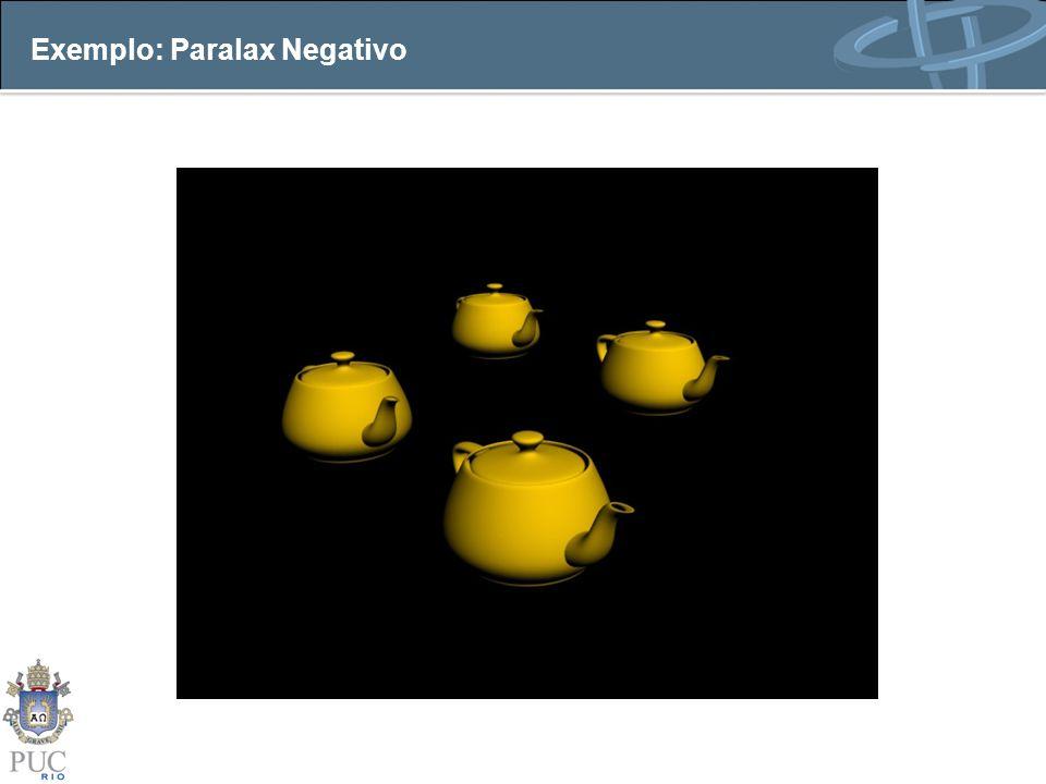 Exemplo: Paralax Negativo