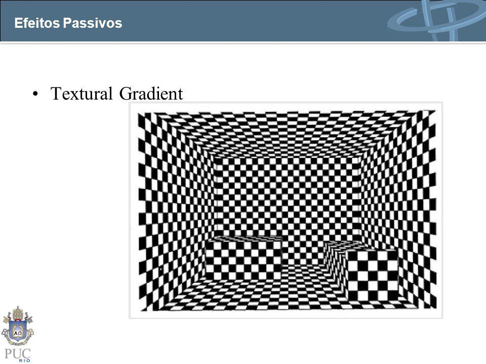 Efeitos Passivos Textural Gradient