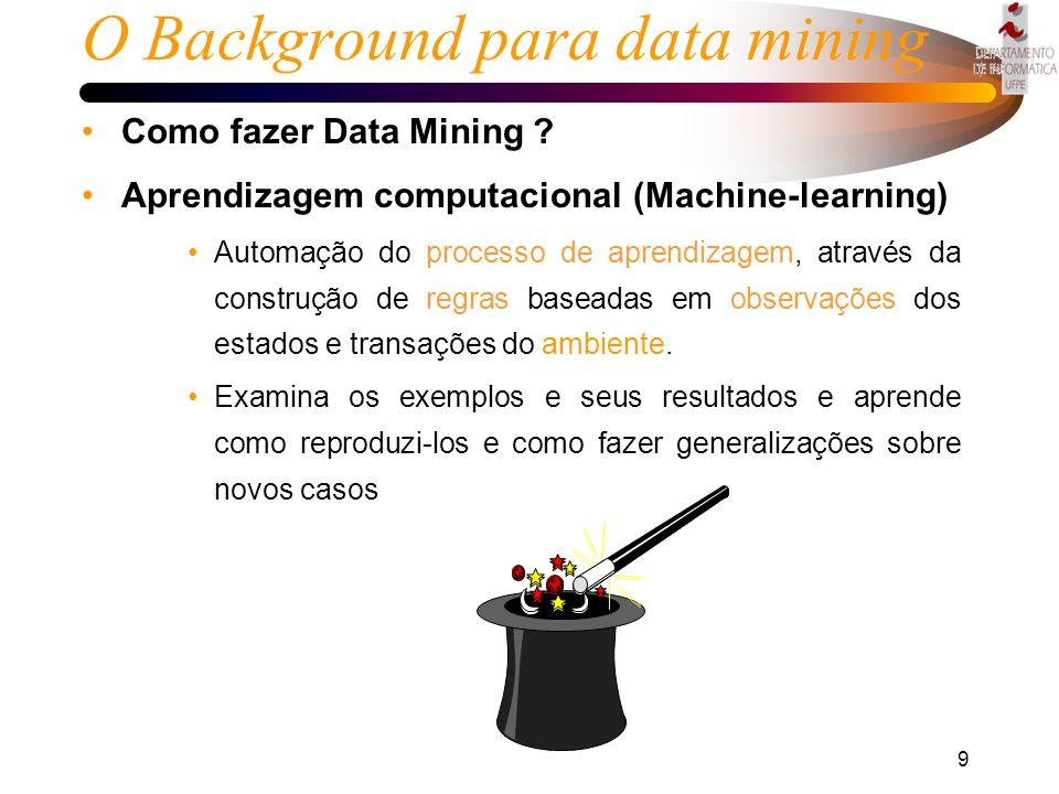 8 Introdução Evolução até o data mining