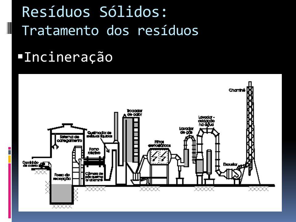 Resíduos Sólidos: Tratamento dos resíduos Incineração