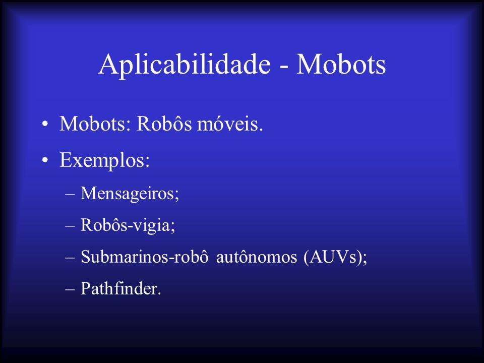 Aplicabilidade - Mobots Mobots: Robôs móveis.