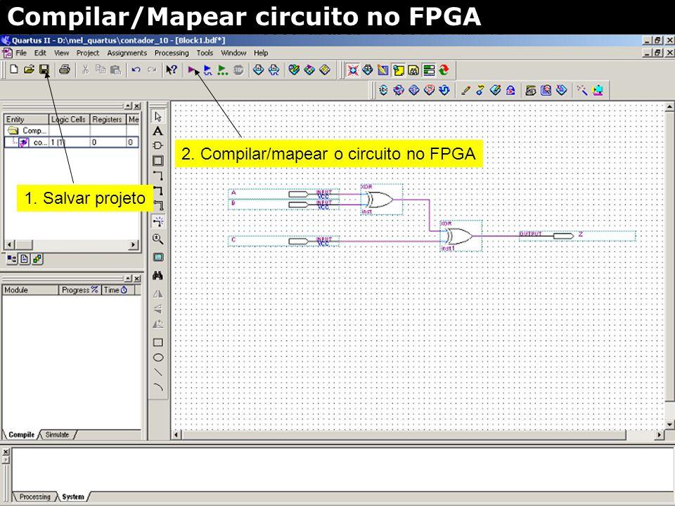 Portas lógicas/pinos primitivas fios pino Entrada esquemática - Editor