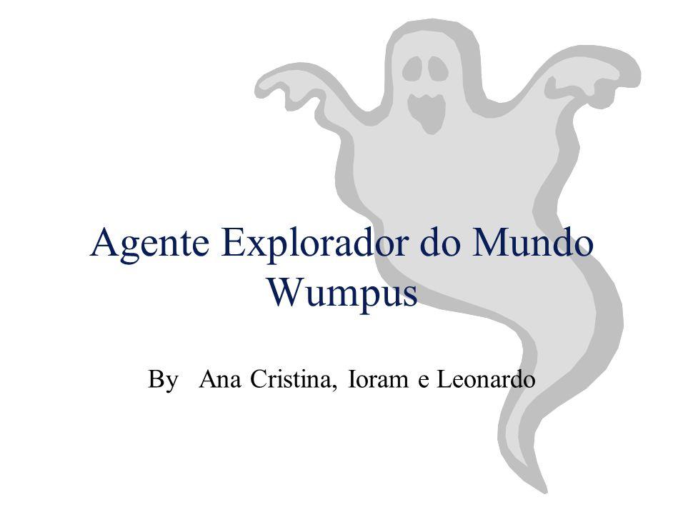 © Ana, Ioram, Leonardo, 1998Agente Explorador do Mundo do WumpusSlide 21 Objetivos
