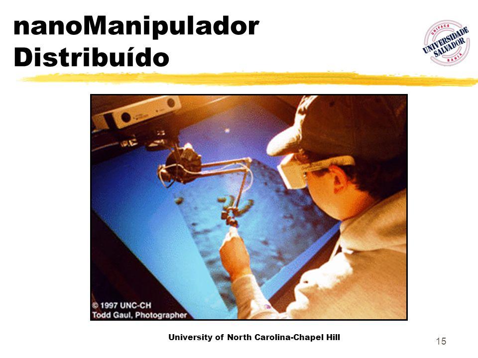 15 nanoManipulador Distribuído University of North Carolina-Chapel Hill